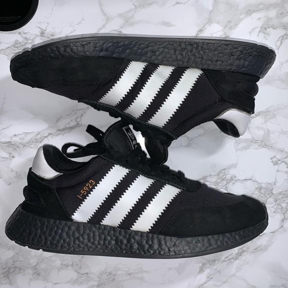 ADIDAS Iniki I-5923 Boost Sneaker Black White